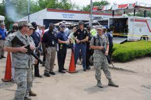 national guard provides security in alabama disaster area