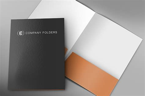 company folder template front inside corporate folder mockup template free psd