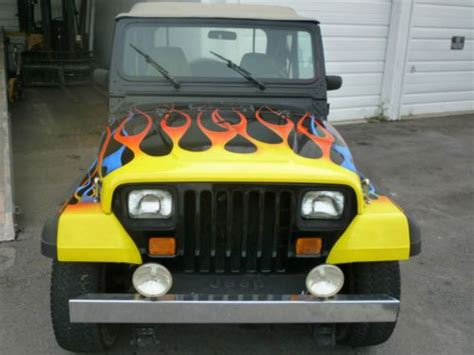 beach cruiser jeep sell used awesome beach cruiser 1989 wrangler custom