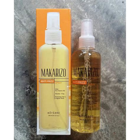 makarizo anti frizz besar 240ml vitamin rambut spray