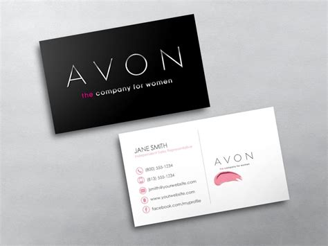 templates for mlm business avon business cards free shipping