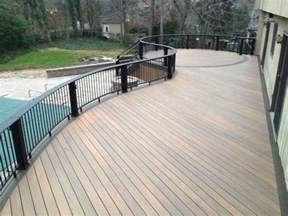 deck materials decks composite decking material review