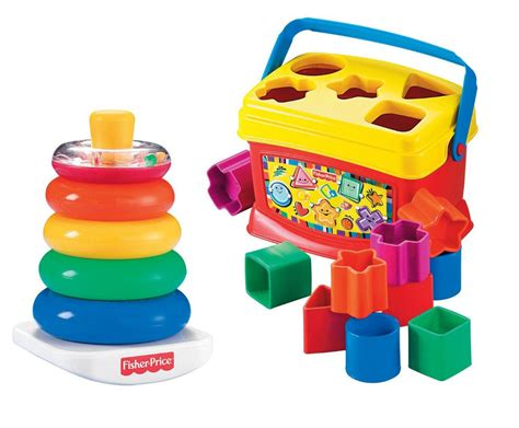 Toddler Toys - baby developmental toys set educational blocks bundle