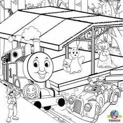 free halloween coloring pages printable pictures color kids train thomas tank