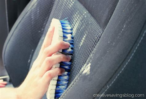 diy car upholstery cleaner creative savings