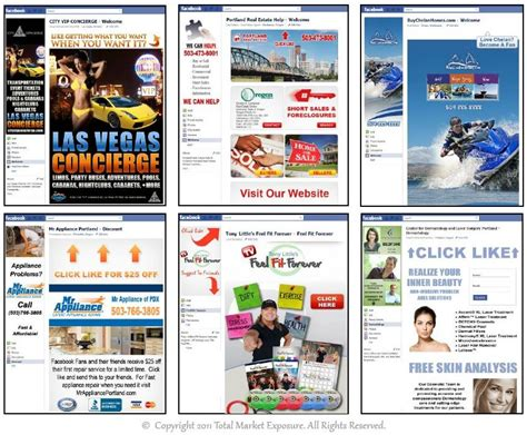 customize facebook fan page facebook landing page exles