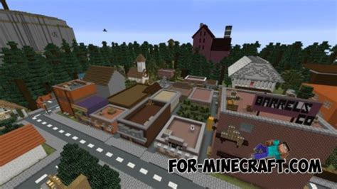 map of gravity falls gravity falls map for minecraft pocket edition 0 10 x