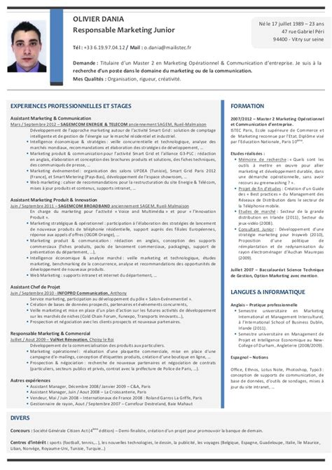 Plantillas De Curriculum Vitae Trackid Sp 006 modele cv directeur commercial gratuit cv anonyme
