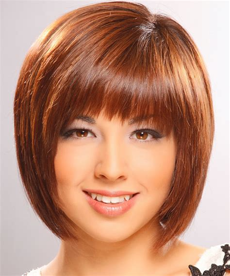 hair styles with bangs straight across oblong face shape the right hairstyles for you