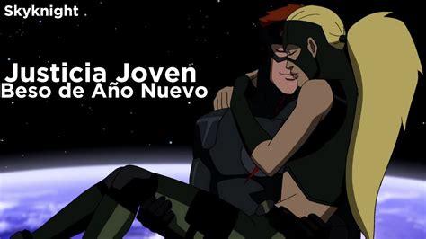 imagenes de robin justicia joven justicia joven beso de a 241 o nuevo latino hd youtube