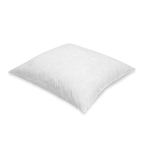 bed bath and beyond feather pillow feather european square pillow bed bath beyond
