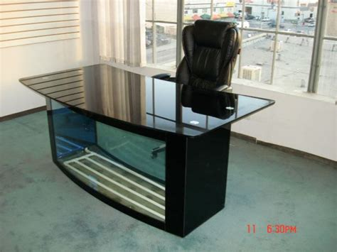 The 6 Most Ridiculous Used Desks Office Desk Fish Tank