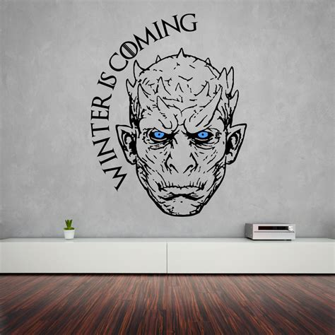 king wall stickers king wall sticker of thrones vinyl decal white