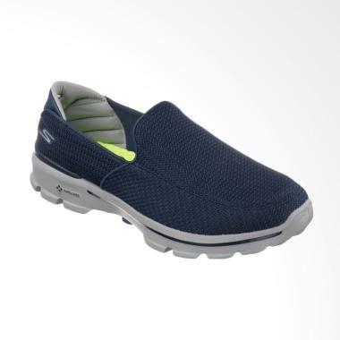 Sepatu Skechers Goga Run jual skechers go walk 3 salur 2 slip on sepatu pria navy