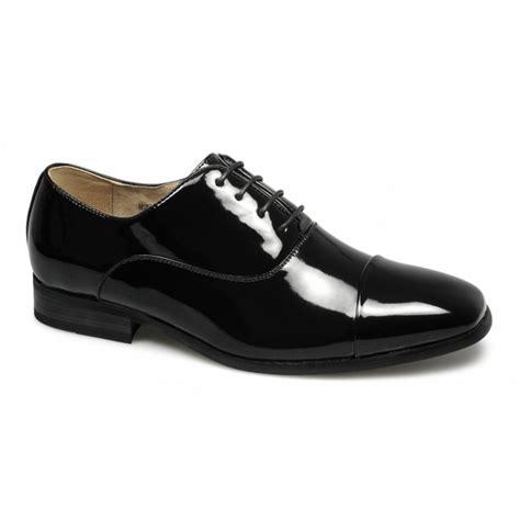 goor mens square patent formal wedding shoes black buy