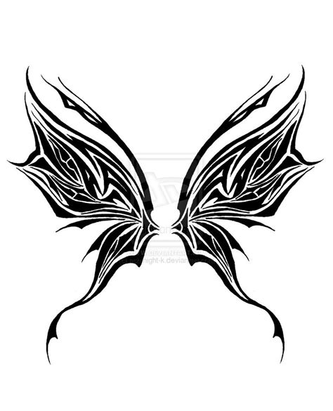butterfly wings tattoo designs tribal wings ink hennas and