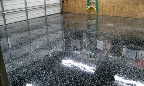 Garage Floor Paint Coverage How To Choose A Clear Coat For Garage Floor Coatings All