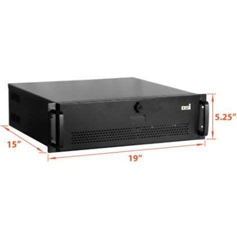 Rack Mount Pc by 3u 15 Quot Depth Industrial Rack Mount Computer Rms3130