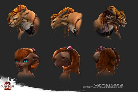 guild wars 2 hairstyles guild wars 2 hairstyles by alemja on deviantart