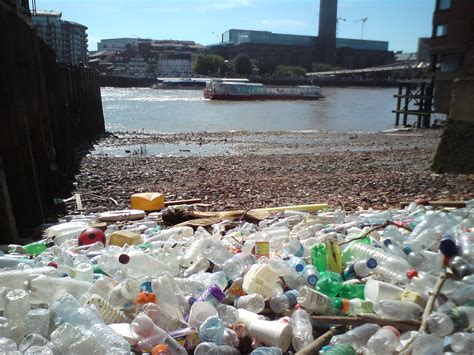 thames river water quality food packaging responsible for 74 of litter found in the