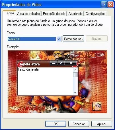 naruto themes for xp naruto theme for xp download