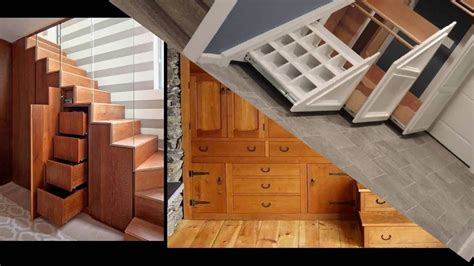 Storage Closet Ideas by Awesome Under Stairs Closet Railing Stairs And Kitchen