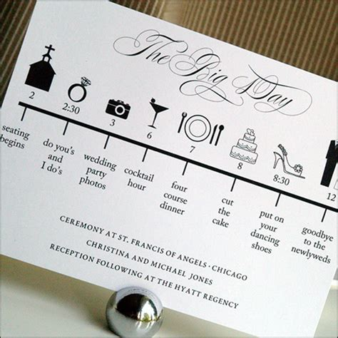 Wedding Day Timeline by A Timeline Of The Wedding Day Wedding Day Sparklers