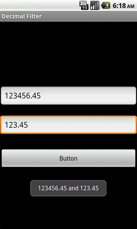 android edittext android set limit for fraction in decimal numbers in edittext