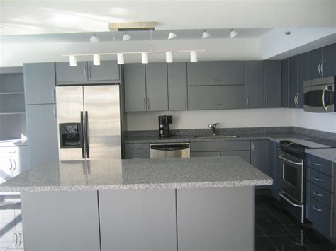 Grey Modern Kitchen Cabinets modern grey cabinets