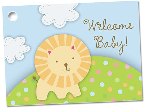 Baby Gift Card - gift card welcome baby foster stephens inc