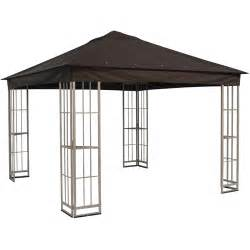 Lowes Gazebos And Canopies by Cheap Garden Treasures Square Gazebo From Lowes Gazebos
