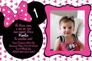 Free Minnie Mouse 1st Birthday Invitations Templates by Minnie Mouse Birthday Invitations Free Printable Minnie