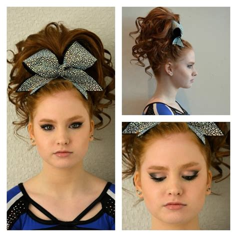 school cheer hairstyles all cheer makeup cheer cheer makeup