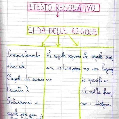 testo un tempo piccolo il testo regolativo nella classe seconda primaria