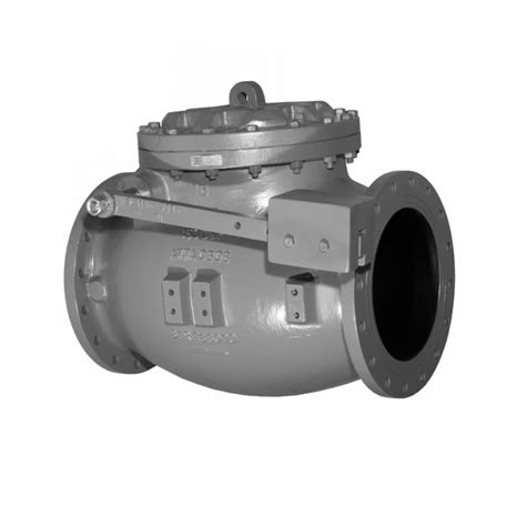 swing check valve weight mueller 174 8001 series 14 quot 36 quot swing type lever and weight