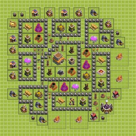 aplikasi layout coc best clash of clans base layouts town hall 1 to 10