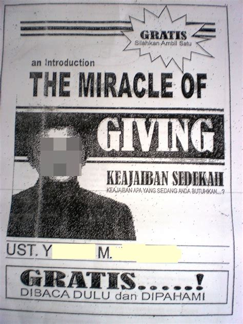 The Miracle Of Giving Buku Keajaiban Sedekah catatan aqil azizi kebenaran lebih layak diikuti page 2