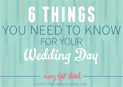 your bridal style everything you need to to design the wedding of your dreams books 6 things you need to for your wedding day every