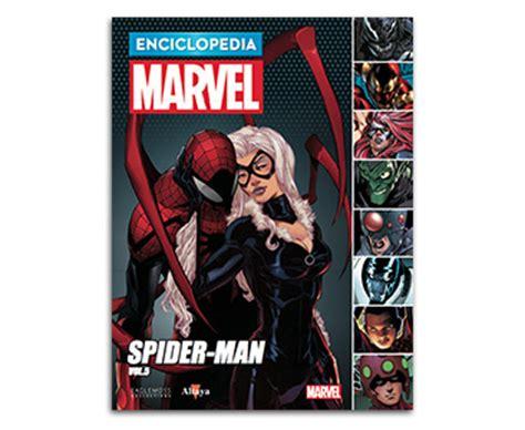 entrega de libro 34 spider man volumen 5 enciclo