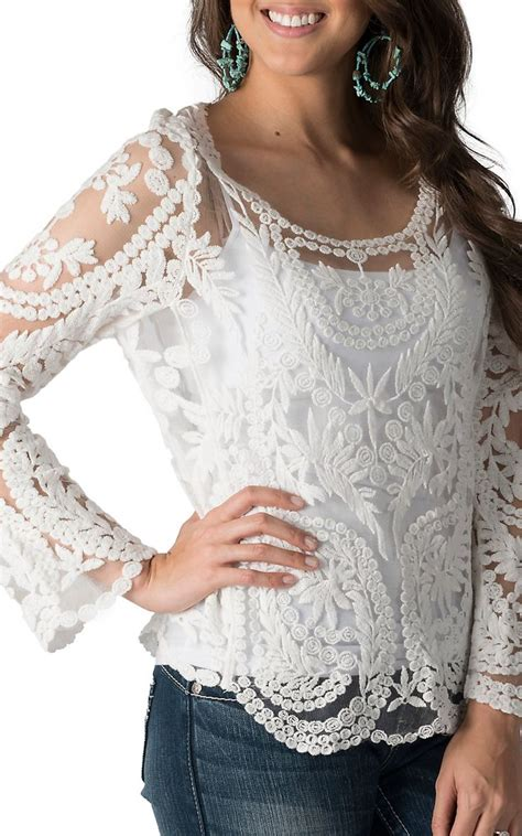 46 Aqila Top White karlie s white lace sleeve top pretty things white lace clothes and