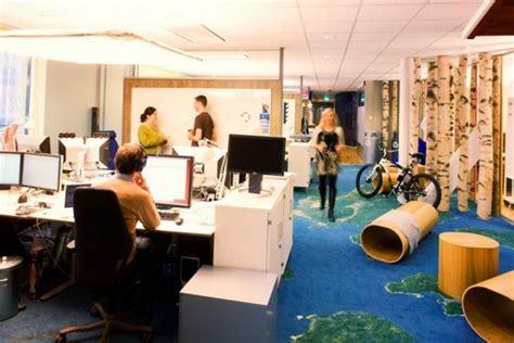 google office design google office versus facebook office