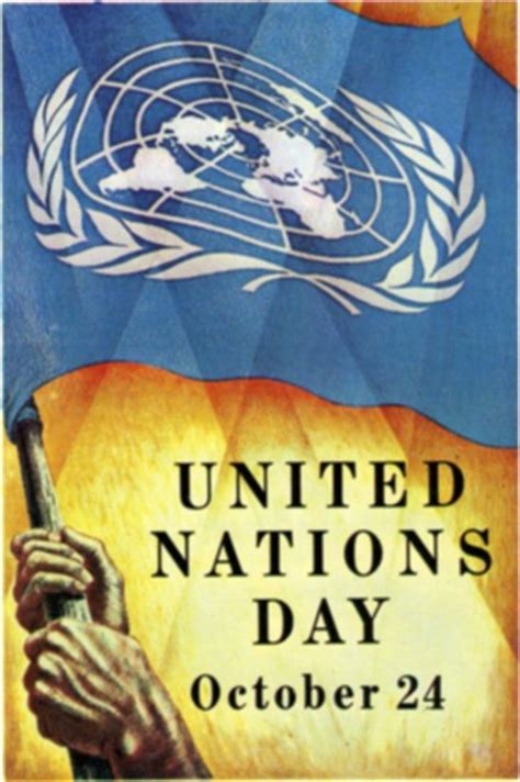 United Nations Nation 29 by The Royal Calendar October 24