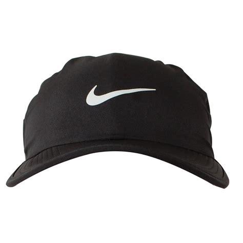 Nike Ultra Feather Light Cap Topi Sport Original 100 Authentic Black nike ultra featherlight cap black