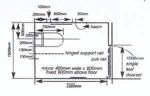 Floor Plans For Handicap Accessible Homes local planning guidance note no 6 access to and use of