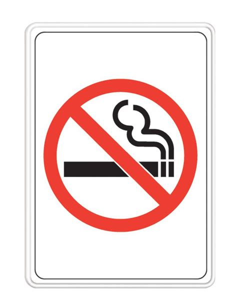 no smoking signs canada 19 x 24 jumbo sign house for sale 847352 in canada