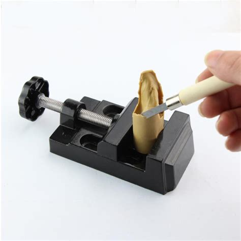 portable bench vise portable mini bench vise polymer clay hobby tool set tools