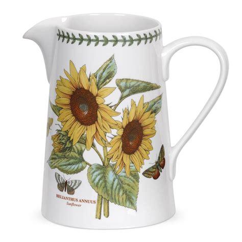 the botanic garden portmeirion portmeirion botanic garden sunflower jug