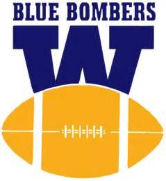 Winnipeg blue bombers primary logo canadian football league cfl