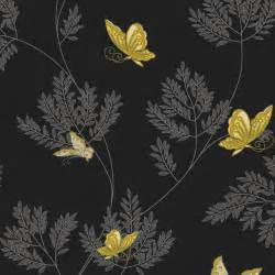 Purple Gold Bedroom - black and grey wallpaper collection 70