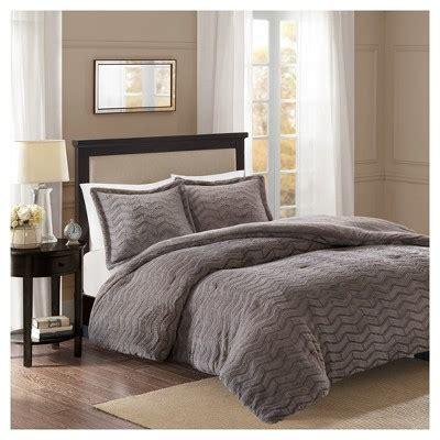 white fur comforter kaplan brushed long fur comforter mini set target
